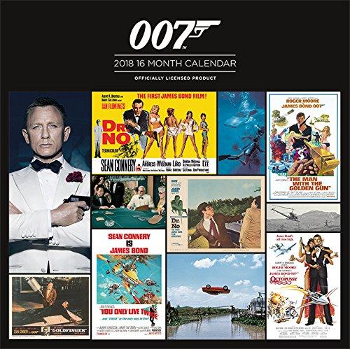 2018 James Bond Official Calendar