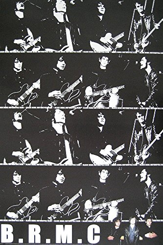 Empire Interactive - Poster, soggetto: Black Rebel Motorcycle Club, LIVE Collage TAKE Them ON Your OWN