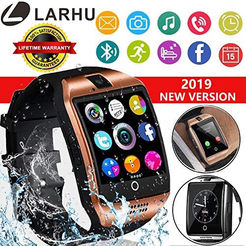 Smart Watch, Bluetooth Smart Watch Touchscreen with Camera,Unlocked Watch Phone with Sim Card Slot,Smart Wrist Watch,Smartwatch Phone for Android Samsung S9 S8 iOS iPhone 8 7S Men Women Kids