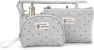 SPAHER Impermeabile Beauty Case da viaggio Borsetta da Viaggio Organizzatore Borsa da Toilette Portatrucchi Make up Borsa ...