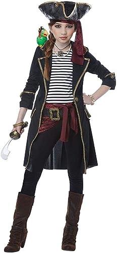 Descuento del 70% barato High High High Seas Captain Girls Fancy Dress Costume Large  tomamos a los clientes como nuestro dios