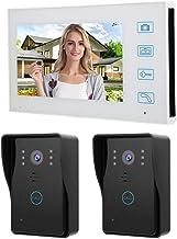 TFT 2 V1, video-deurintercomsysteem, wifi, draadloos, 7 inch, nachtzicht met infrarood, video-deurbel 100-240 V (ME)