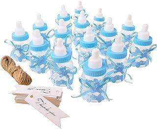 Gudotra 125 Packs 24pcs Biberones Bautizo Plastico Azul
