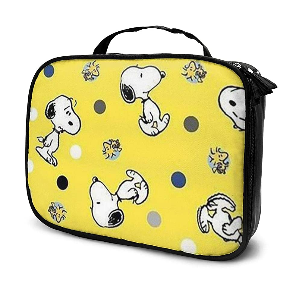 空港ほとんどの場合フェードDaituスヌーピー 化粧品袋の女性旅行バッグ収納大容量防水アクセサリー旅行