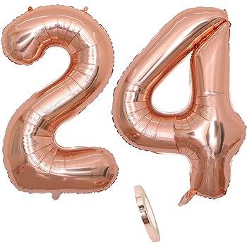 XXL 100cm Riesen Silber Hochzeit Helium Zahl 0 Folienballon Party Deko Geschenk
