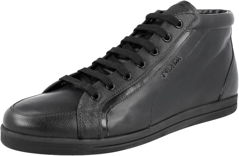 Prada Women's 3T5893 Saffiano Leather Sneaker