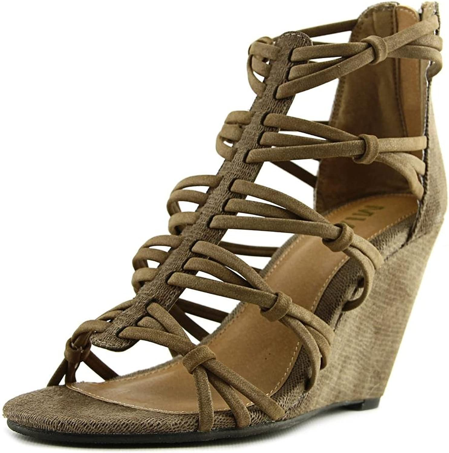 MIA Womens Dylon Open Toe Casual Strappy Sandals