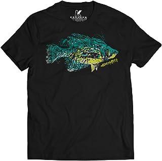 8749202c Black Crappie Fishing T-Shirt Kenders Species 2.0 Shirt Series Fishing Gift,  Fishing Gear