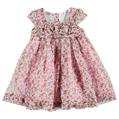 BIMBUS jurk MM voile bedrukte bloemen
