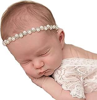 pearl headband baby