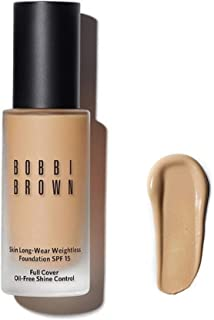 BOBBI BROWN SKIN LONG-WEAR WEIGHTLESS FOUNDATION BROAD SPECTRUM SPF 15 - COOL BEIGE