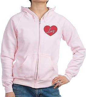 CafePress I Love Lucy Heart Zip Hoodie