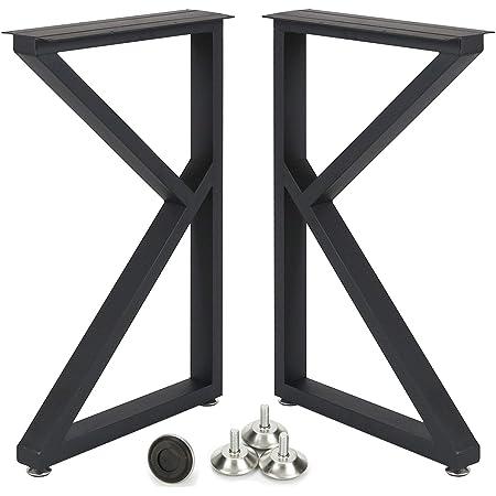 steel table legs modern desk legs iron table legs 2 XZ Metal Dining Table Legs set