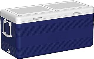 علبة ثلج فاخرة من البلاستيك للاحتفاظ بالبرودة من Cosmoplast 150 - أزرق