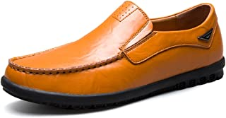 Minotta TS8019 Synthetic Leather Slip-On Driving Shoes Casual Loafers for Men