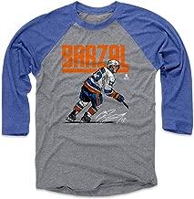 500 LEVEL Mathew Barzal Shirt - Vintage New York Hockey Raglan Tee - Mathew Barzal Hyper