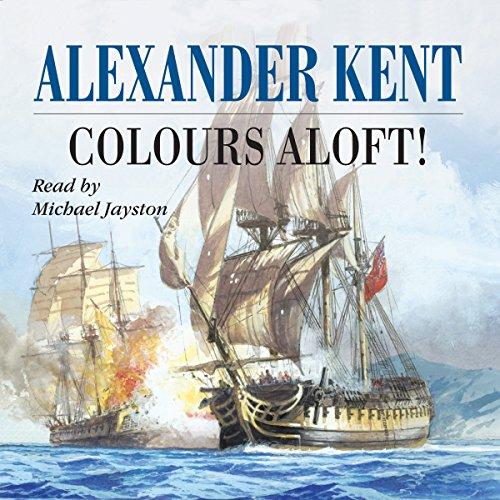 Colours Aloft audiobook cover art