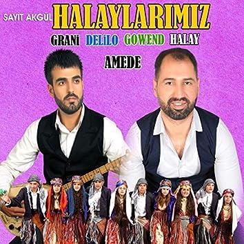 Halaylarımız (feat. Amede) [Grani / Delilo / Gowend / Halay]