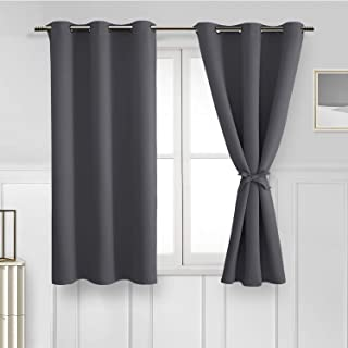 Hiasan Blackout Curtains for Bedroom - Thermal Insulated...