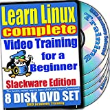 Imparare Linux Video Completate l'allenamento per principianti e quattro Bundle Esami di certificazione, Slackware Edition. 8-DVD Set, Ed.2011