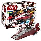 Revell- Resistance A-Wing Fighter, Red, Escala 1:44 Star Wars Kit de Modelos de plástico, Multicolor, Scale (06759)