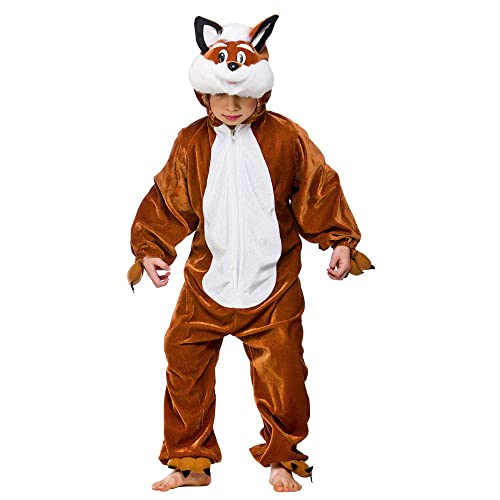 CHILDRENS FOX COSTUME FANCY DRESS OUTFIT