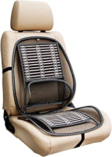 Steel Wire Mesh Lumbar Support, Mesh Back Support Cushion, Air Flow Lumbar Support Cushion for Car Seat Office Chair Back Rest Pain Relief, Lumbar Back Support Mesh Cushion Pillow for Lower Back Pain