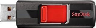 SanDisk Cruzer CZ36 32GB USB 2.0 Flash Drive, Frustration-Free Packaging- SDCZ36-032G-AFFP,Black