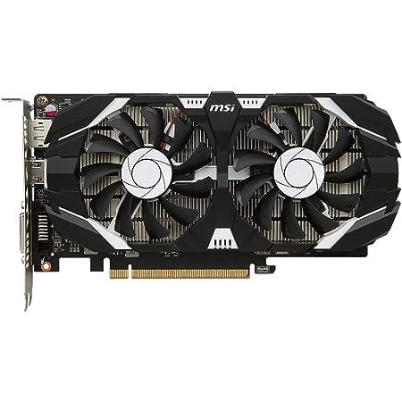 MSI GeForce GTX 1050 Ti 4GT OCV1 グラフィックスボード VD7545