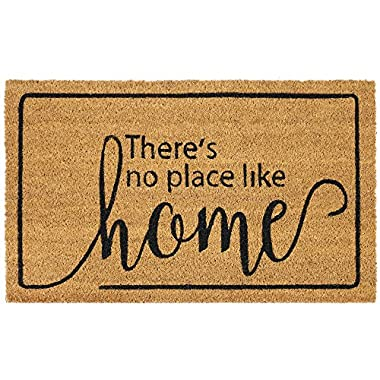 Achim Home Furnishings PCM1830DO6 Dorothy Printed Coir Door Mat, 18  x 30