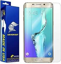Samsung Galaxy S6 Edge Plus Screen Protector [Full Coverage], Armorsuit MilitaryShield w/Lifetime Replacements - Anti-Bubble Ultra HD Premium Shield