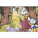 YeeATZ Rompecabezas de 1000 piezas Donald Duck: póster de escena animada interactivo de 1000 piezas con experiencia de juego – Rompecabezas premium de 75 x 50 cm