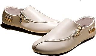 Inconnu LIEBE721 Mode Casual Chaussures Grille Slip sur Les Hommes Populaires Chaussures de Loisirs