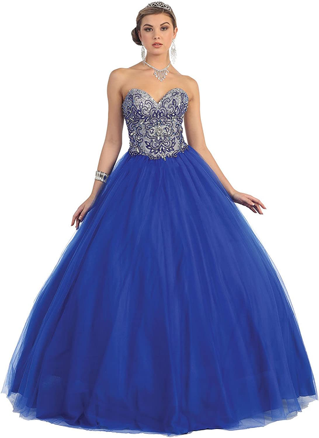 Layla K LK38 Quinceanera Sweetheart Ball Gown
