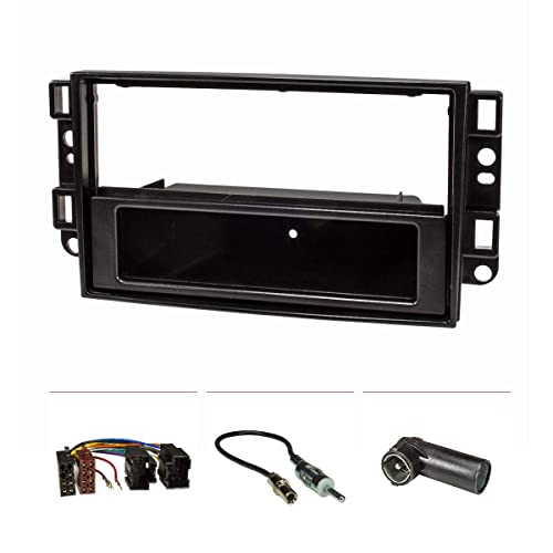 Embellecedor de radio (Set) Chevrolet Aveo Captiva Epica, colour negro