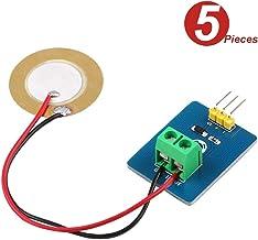 DollaTek 5pcs Módulo de Sensor de vibración piezoeléctrico de cerámica analógico 3.3V / 5V para Arduino DIY Kit