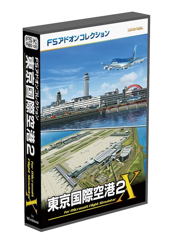 平手打ちゆでる曇ったテクノブレイン FSアドオンコレクション 東京国際空港2