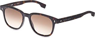 نظارات شمسية بوس من هوغو بوس للرجال، 51 ملم - هافانا