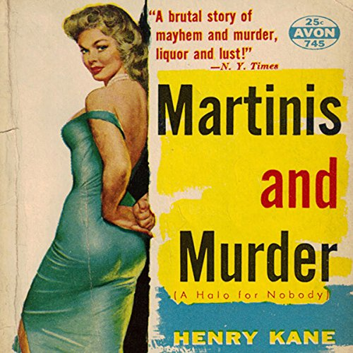 Martinis and Murder audiobook cover art