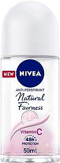NIVEA Natural Fairness Antiperspirant for Women Roll-on, 50 ml