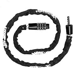 Kettingslot/Elektrische Auto Lock Motorcycle Lock Fietslot Anti-Lock Lock-Oranje
