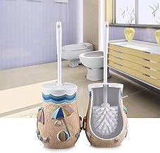 Toiletborstel Toiletborstels en HouderesBadkamer Toilet Borstelset Hars Toilet Borstel Houders Vloerende Toilet Reinigings...