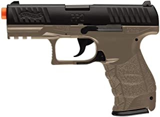 Walther PPQ Spring Powered 6mm BB Pistol Airsoft Gun, Dark Earth Brown
