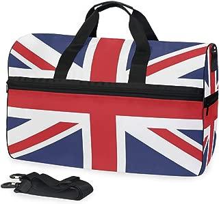 Uk Flag Big Travel Bag Top Fashion Weekender Large Capacity Camping Fitness Sports Luggage for Women Men