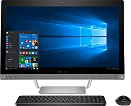 "Premium HP Pavilion 27"" Full HD IPS Touchscreen All-in-One Desktop, Quad Core Intel i7-6700T, 12GB DDR4 RAM, 1TB 7200RPM H..."