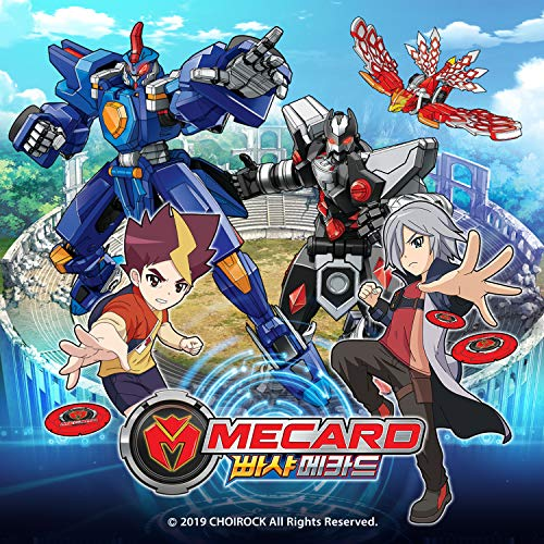 MeCard Deluxe mecardimal Crang Action Figure transforme avec carte