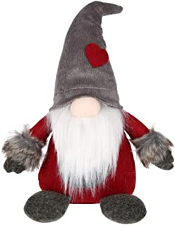 Rosso Statuette svedesi sedute Ornamento Regalo Bambole VOSAREA Varea Gnomo di Natale