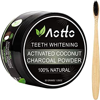 Aotto Activated Charcoal Natural Teeth Whitener