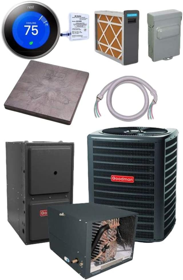 Goodman 3 TON 15 SEER Air Some reservation CHPF4860 bundle GSX160361 A surprise price is realized Conditioner