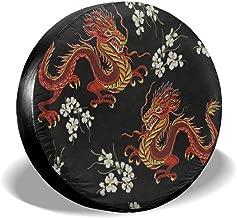 dragon tire cover